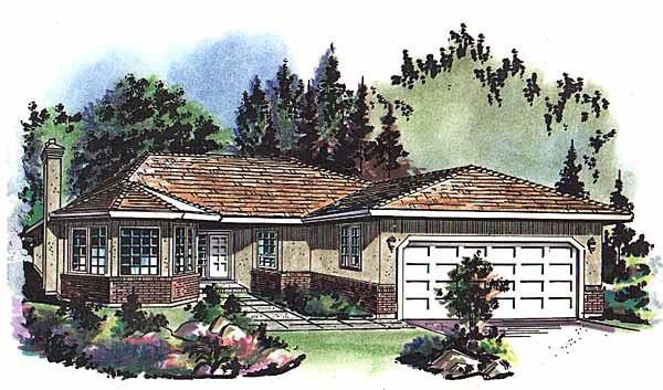 Florida House Plan 58633 Elevation