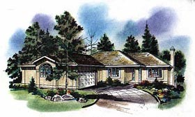 Florida House Plan 58636 Elevation