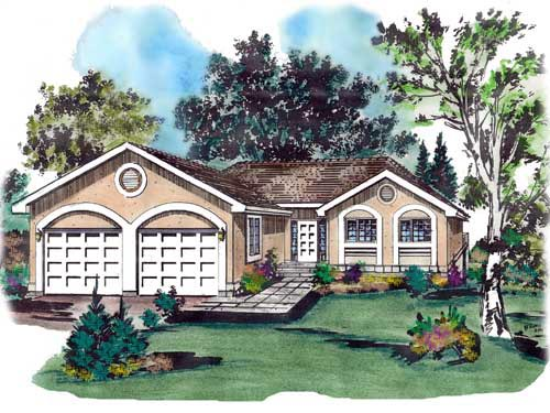Florida House Plan 58641 Elevation