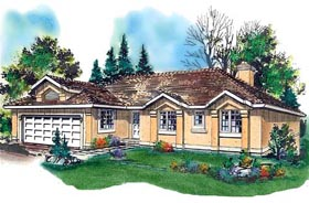 Florida House Plan 58643 Elevation