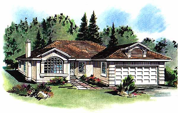 Florida House Plan 58652 Elevation