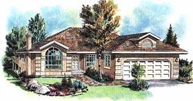 Florida House Plan 58667 Elevation