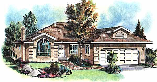 Florida House Plan 58667 Elevation