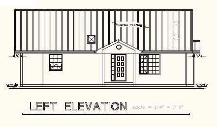 One-Story, Ranch House Plan 58675 with 2 Beds, 2 Baths Picture 1