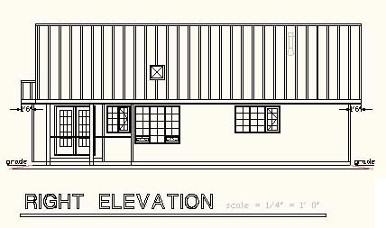 One-Story, Ranch House Plan 58675 with 2 Beds, 2 Baths Picture 2