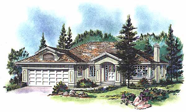 Florida House Plan 58678 Elevation