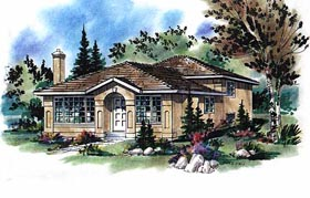 Florida House Plan 58682 Elevation