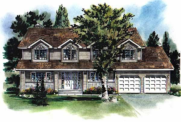 Country House Plan 58683 Elevation