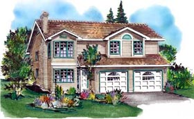 Traditional House Plan 58687 Elevation