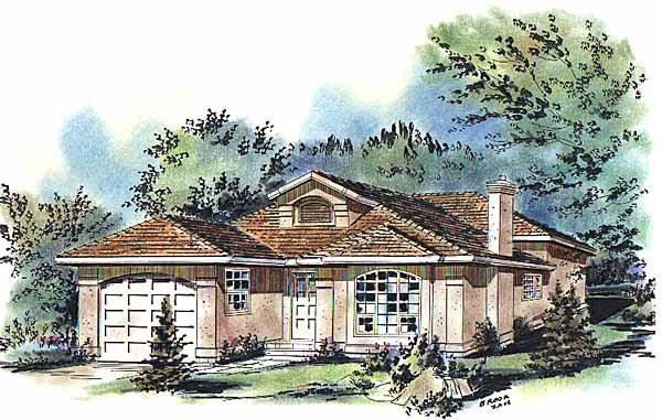 House Plan 58691
