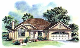 Plan Number 58708 - 1654 Square Feet