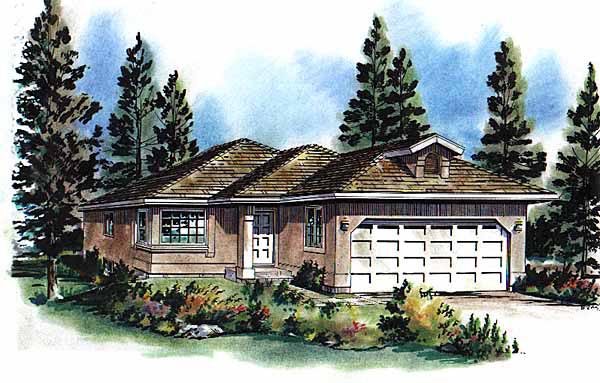 Florida House Plan 58712 Elevation