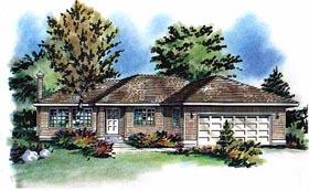 House Plan 58714