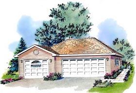 Garage Plan 58724