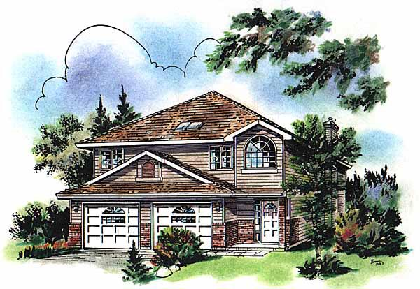 Traditional House Plan 58728 Elevation