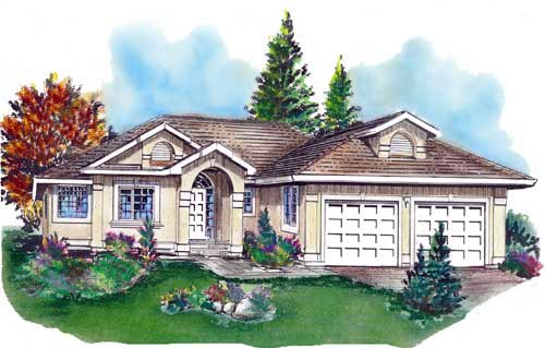 Florida House Plan 58729 Elevation