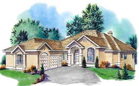 House Plan 58730