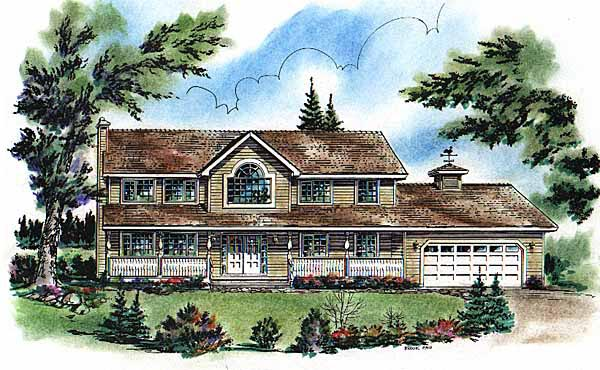 Country House Plan 58732 Elevation