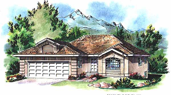 Florida House Plan 58747 Elevation