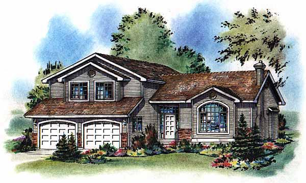House Plan 58780 Elevation