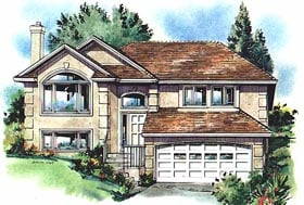 European House Plan 58793 Elevation