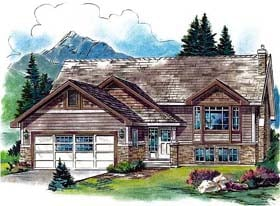 Craftsman House Plan 58801 Elevation