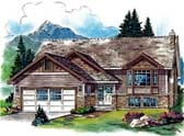 Plan Number 58801 - 1254 Square Feet