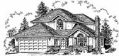 Plan Number 58804 - 2152 Square Feet