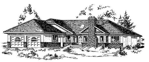 House Plan 58807
