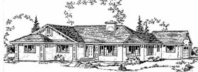 Florida House Plan 58815 Elevation