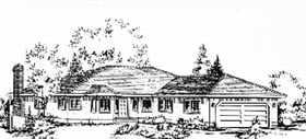 Florida House Plan 58827 Elevation