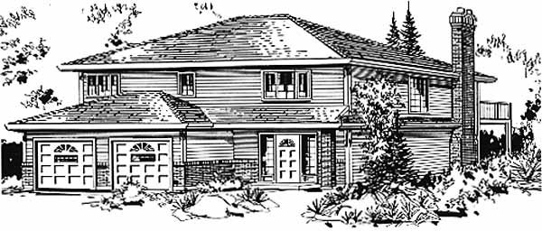 Traditional House Plan 58836 Elevation