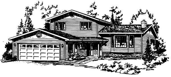 Farmhouse House Plan 58864 Elevation