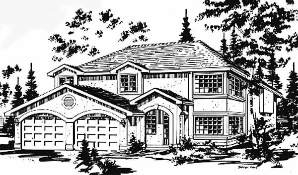 Florida House Plan 58880 Elevation