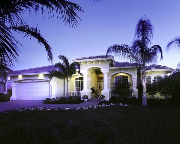 Florida House Plan 58904 Elevation