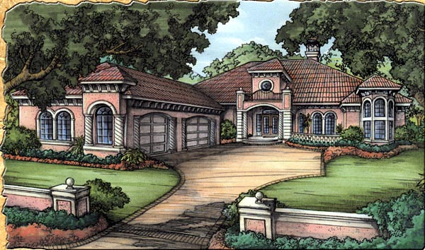 Florida House Plan 58922 Elevation
