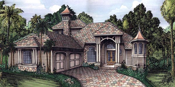 Florida House Plan 58931 Elevation