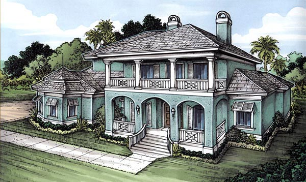 House Plan 58962