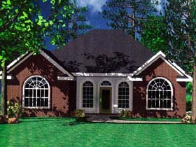 Bungalow Cottage European Traditional House Plan 59001 Elevation