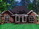 Plan Number 59001 - 1251 Square Feet