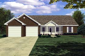 Plan Number 59004 - 1426 Square Feet