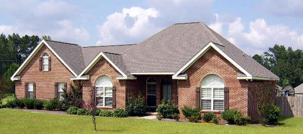 European House Plan 59007