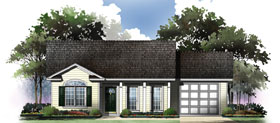 Plan Number 59044 - 1001 Square Feet