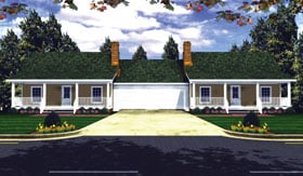 Plan Number 59046 - 1200 Square Feet