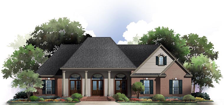 Country European Traditional House Plan 59078 Elevation