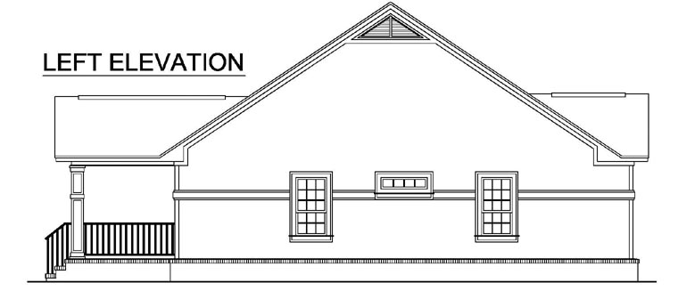 Country, European, Southern, Traditional House Plan 59118 with 2 Beds, 2 Baths Picture 1