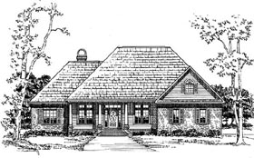 Plan Number 59131 - 2307 Square Feet