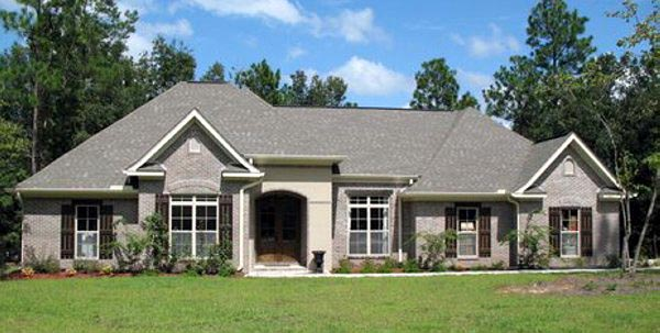 Country European French Country Traditional House Plan 59138