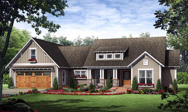 Country European French Country Traditional House Plan 59182 Elevation