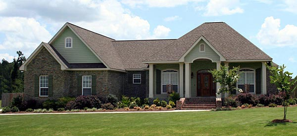 Country European Traditional House Plan 59197 Elevation